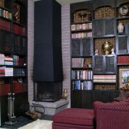 dramatic_cozy_library_fireplace_los_gatos