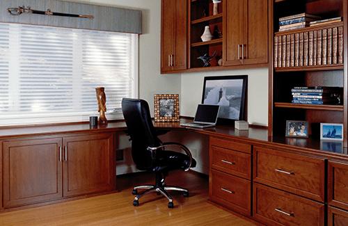 Custom Office Cabinetry Design ~ Home office design custom cabinets losgatos woodard