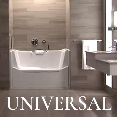 Lifestyle trends interior design woodard associates - Universal designs bathroom interior ...